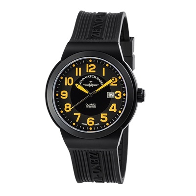 ZENO-WATCH(ゼノウォッチ) ZN-100-BK-OR