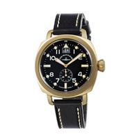 ZENO-WATCH(ゼノウォッチ) Quartz Bronze Cushion 201-2-BK-BK